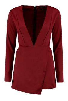 Beyonce Formation Red Playsuit